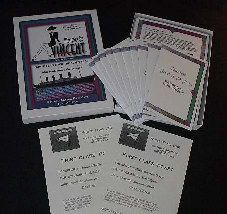 titanic murder mystery dinner party game